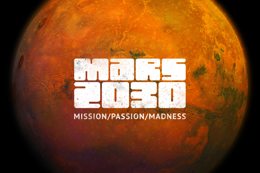 Logo for Mission to Mars 2030